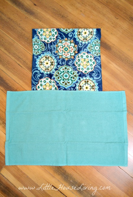 Front of Dish Towel Apron