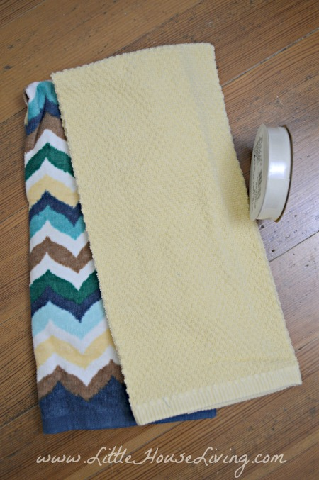 Supplies for Dish Towel Apron