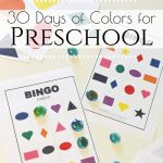 Are you looking for ideas to help teach your child at home? Here is a complete 30 day Preschool Color Theme lesson plan you can use to teach your preschoolers all about colors.