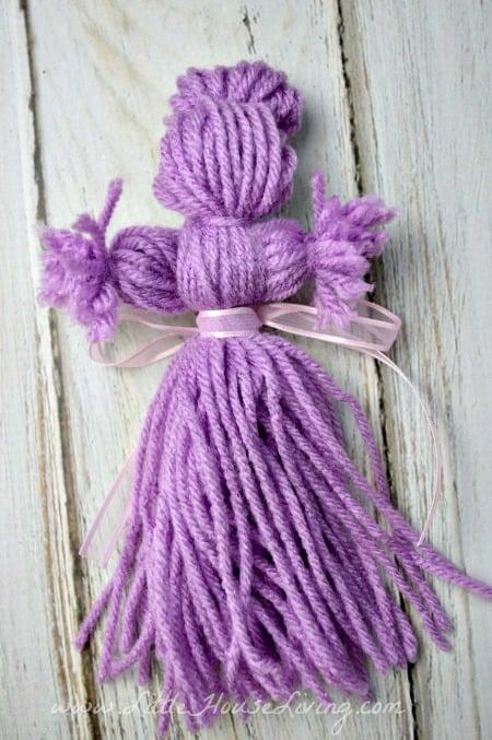 Finished Yarn Doll