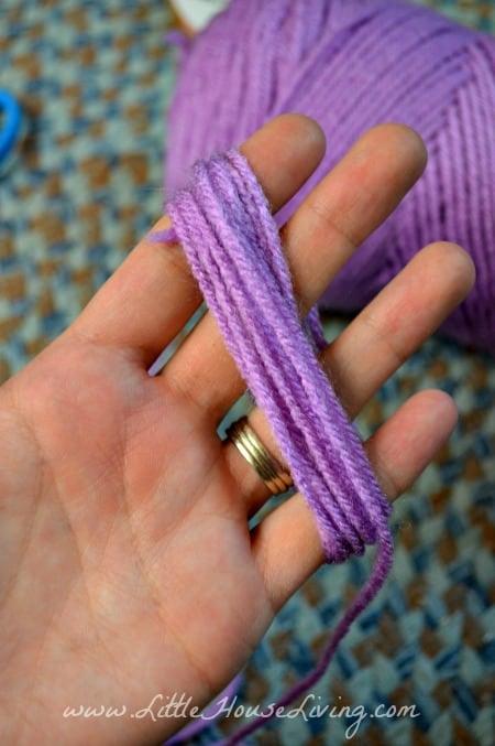 Arms for Yarn Dolls