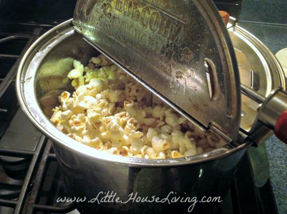 Finished Kettle Corn