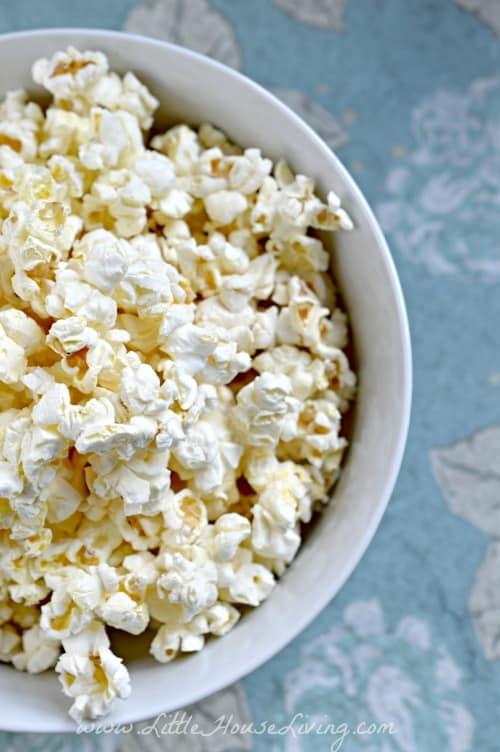 Recipe for Kettle Corn