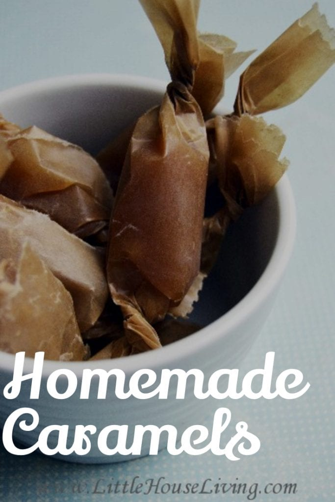 Easy Homemade Caramels Recipe