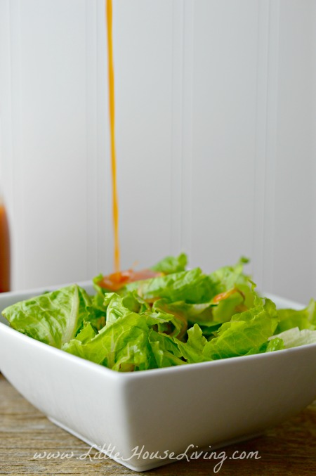 Pouring Catalina Dressing Recipe