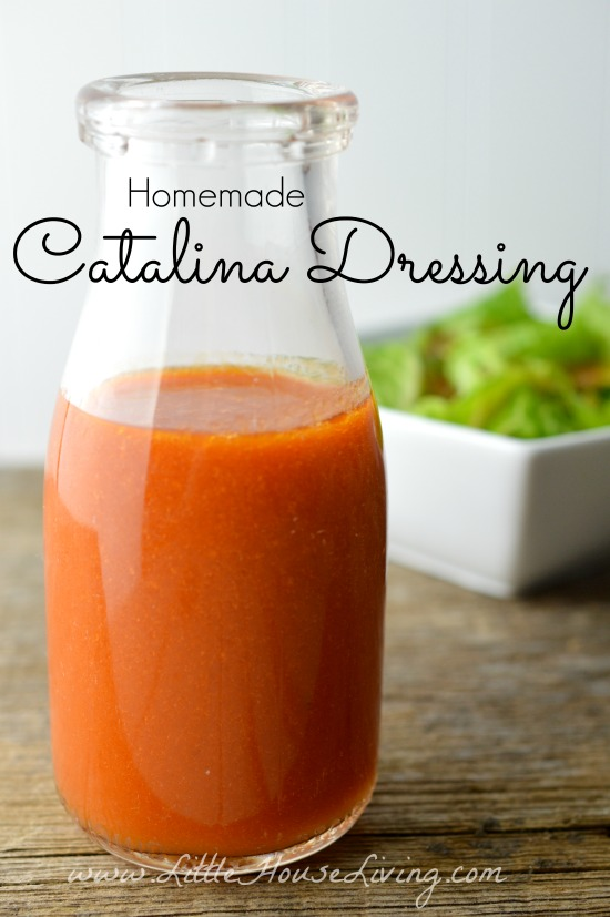 Homemade Catalina Dressing Recipe - Little House Living