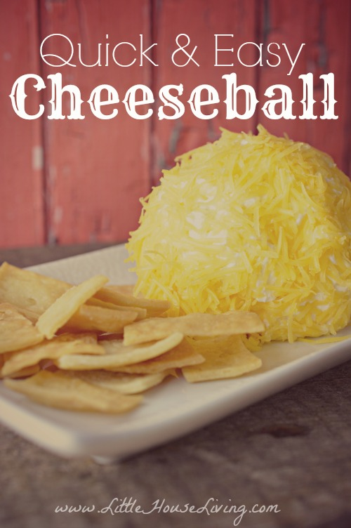 Easy Cheeseball Recipe
