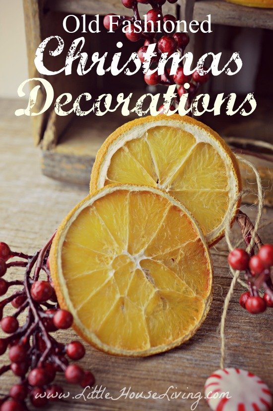 old fashioned christmas decorations - Old Christmas Decorations