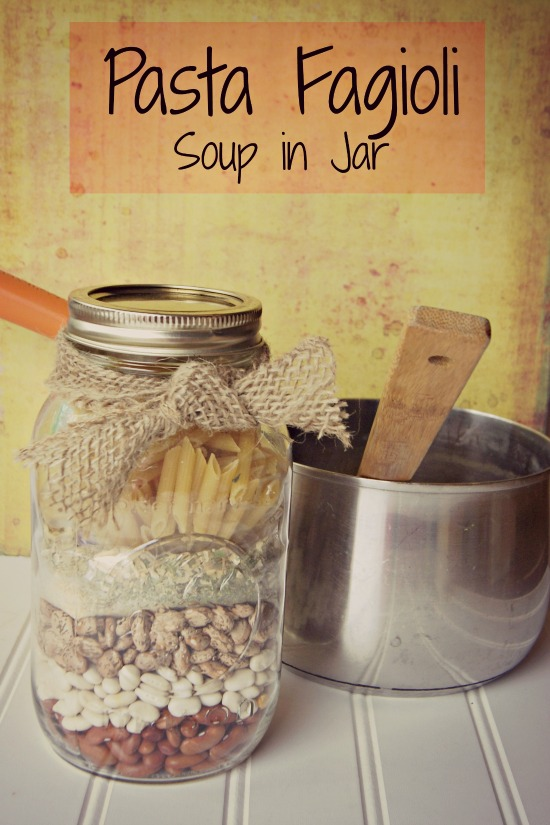 Pasta Fagioli Homemade Soup Mix