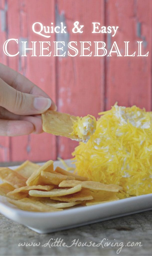 Quick and Easy Cheeseball Recipe
