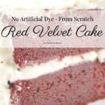 Red Velvet Cake No Dye