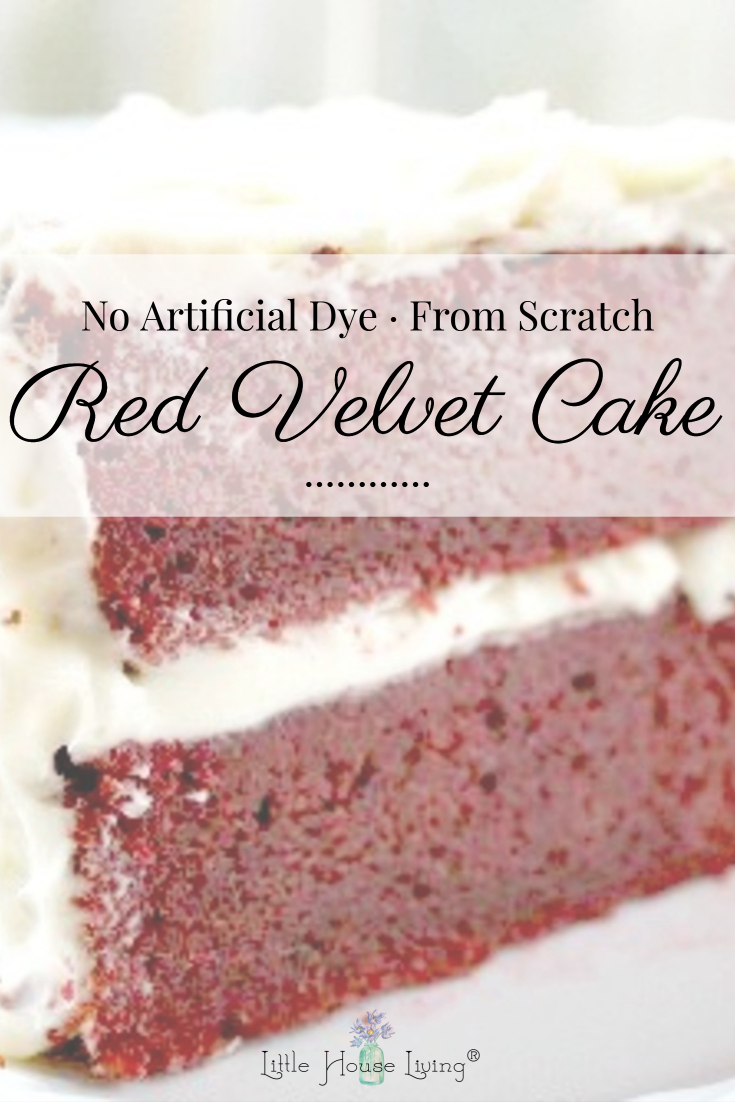 Red Velvet Cake Recipe - No Dye