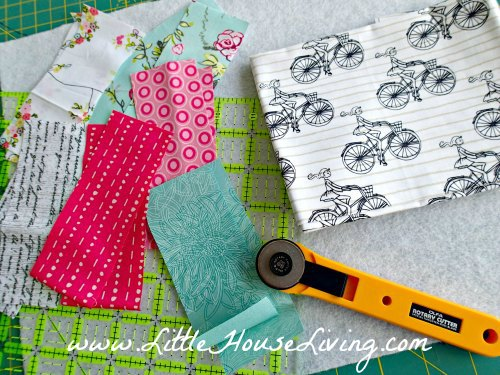 Easy Quilted Placemat Pattern Tutorial Little House Living