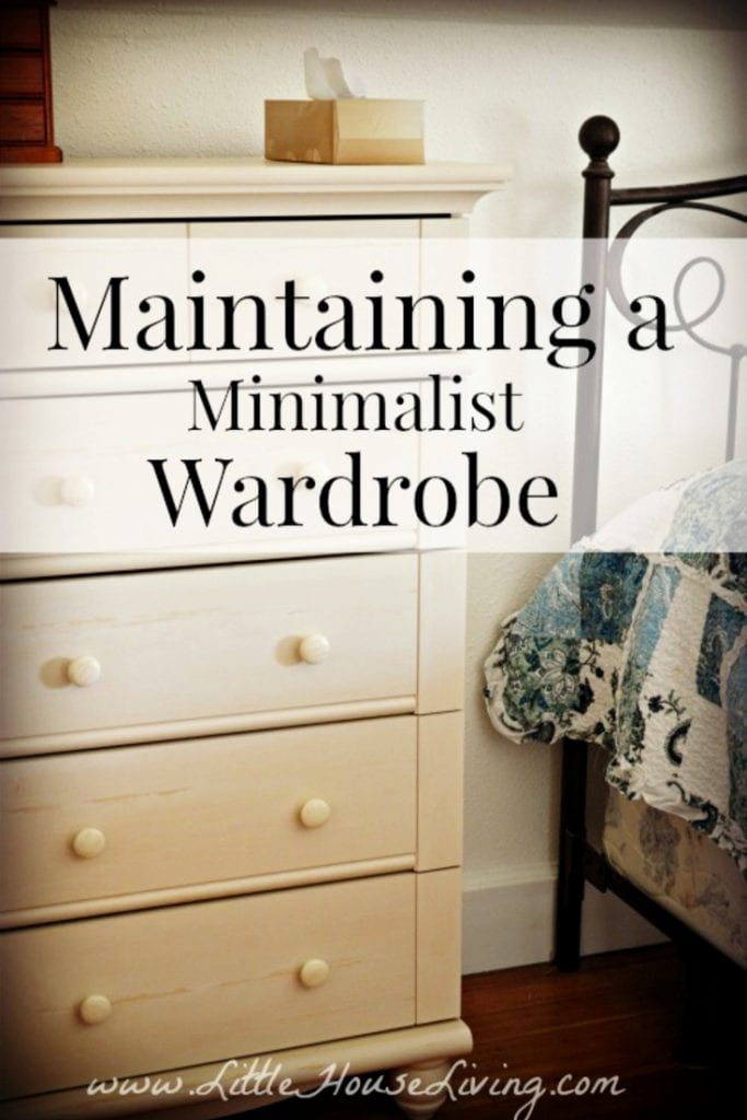 Creating a minimalist wardrobe is only half the battle. Today we're taking a look at how to maintain a Minimalistic Wardrobe through the different seasons and years. #minimalistwardrobe #minimalist #capsulewardrobe #organized #cleanclosets