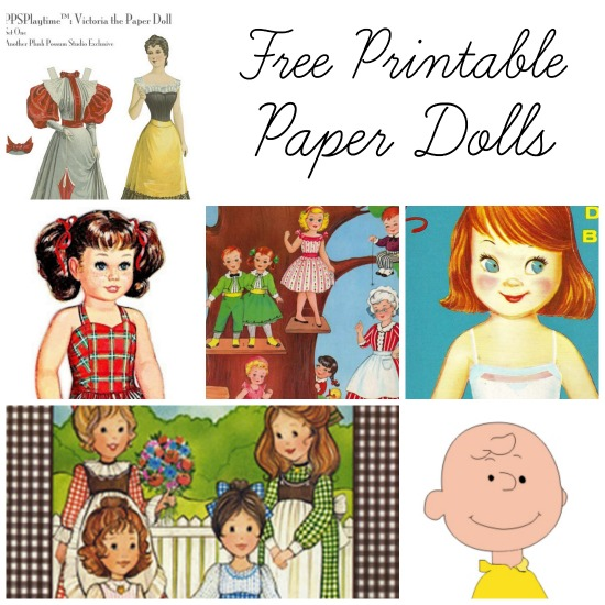 Post image for Free Printable Paper Dolls