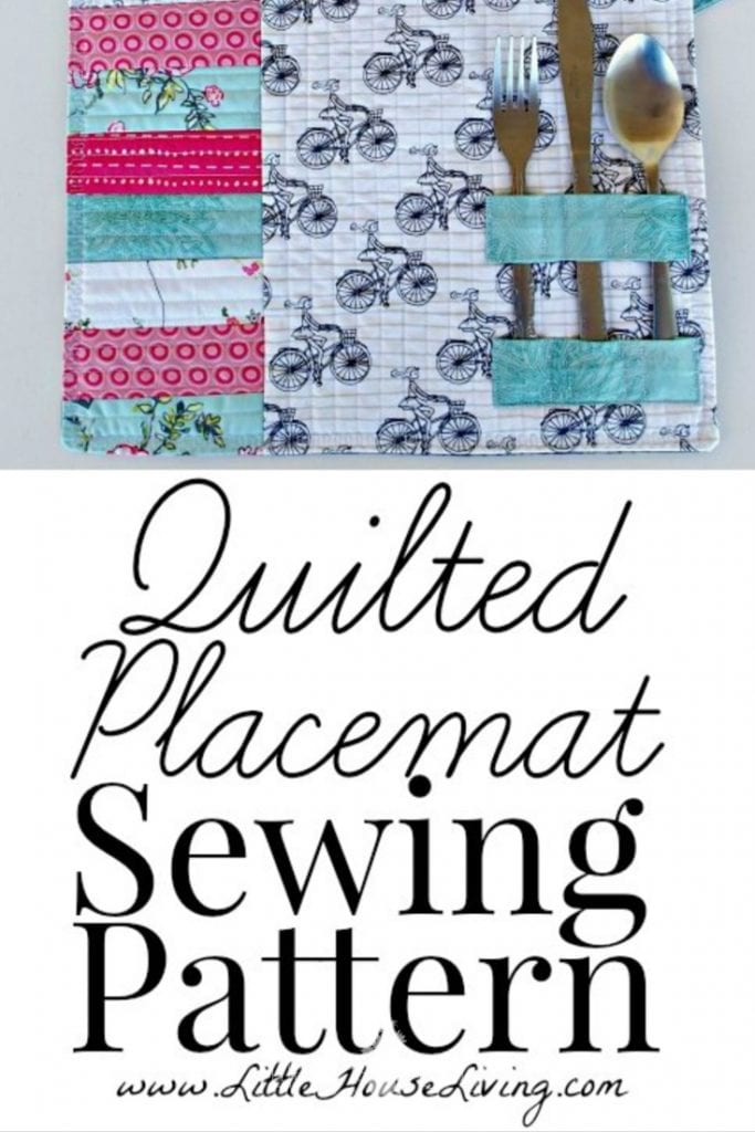 Learn how to make Quilted Placemats with this easy pattern and tutorial. These placemats are beautiful and functional, perfect for your table! #sewing #easysewing #placemats #sewingtutorial #freepattern