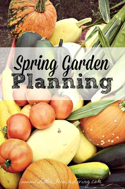 2015 Spring Garden Planning
