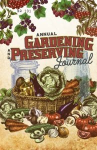 Gardening and Preserving Journal