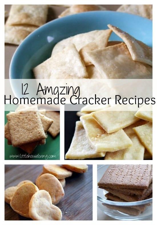 12 Homemade Cracker Recipes