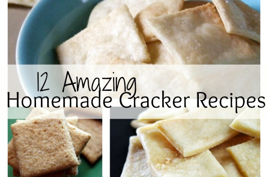 Homemade Cracker Recipes