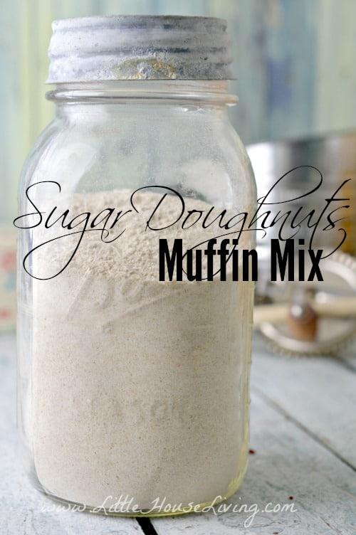 Sugar Doughnuts Muffins Mix - Little House Living