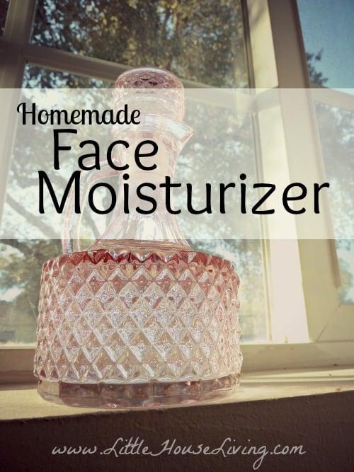 Homemade Face Moisturizer Recipe - Little House Living