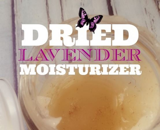 Dried Lavender Body Lotion Recipe