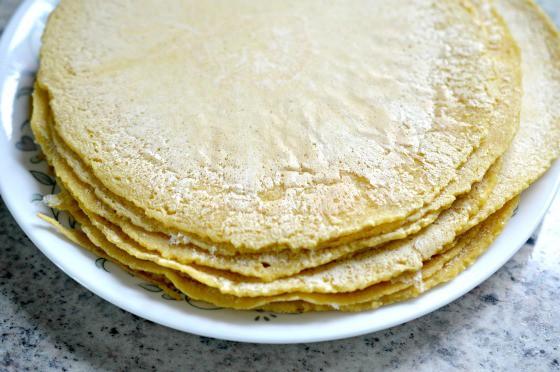 Homemade Corn Torillas Recipe