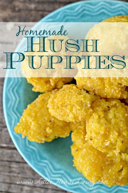 Homemade Hush Puppy Recipe - Little House Living