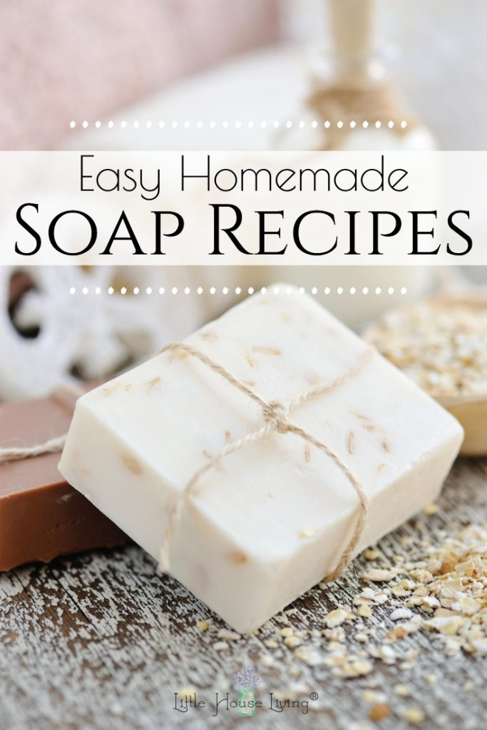 Ready to try making your own soap? Here is a round up of some of my favorite frugal (and fun!) homemade soap recipes to get you started! #soap #homemadesoaprecipes #homemadesoap #diysoap #roundup
