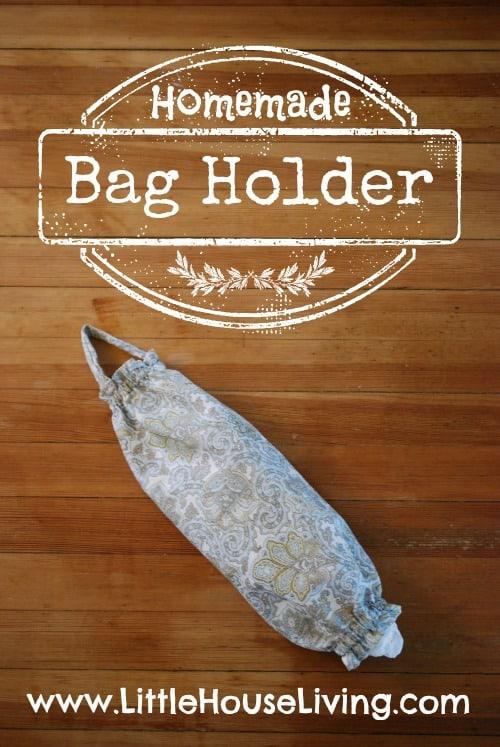 Easy Bag Holder Sewing Pattern - Little House Living