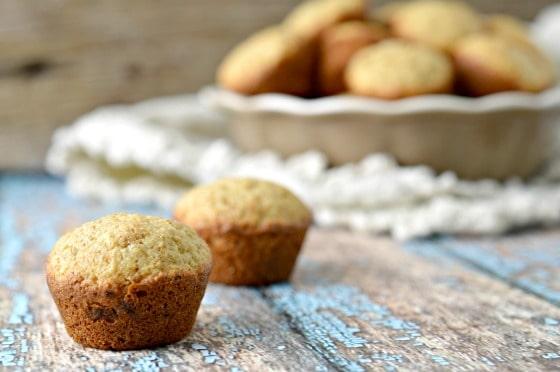 Banana Bread Mini Muffins Recipe