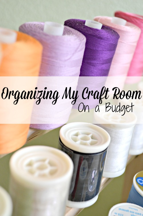 Organizing My Craft Room on a Budget: Part 2