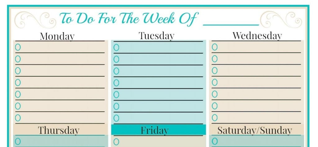 How We Keep It Together (And Free Weekly Planner Templates!)