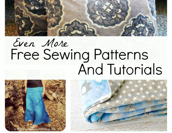 Even More Free Printable Sewing Patterns and Tutorials