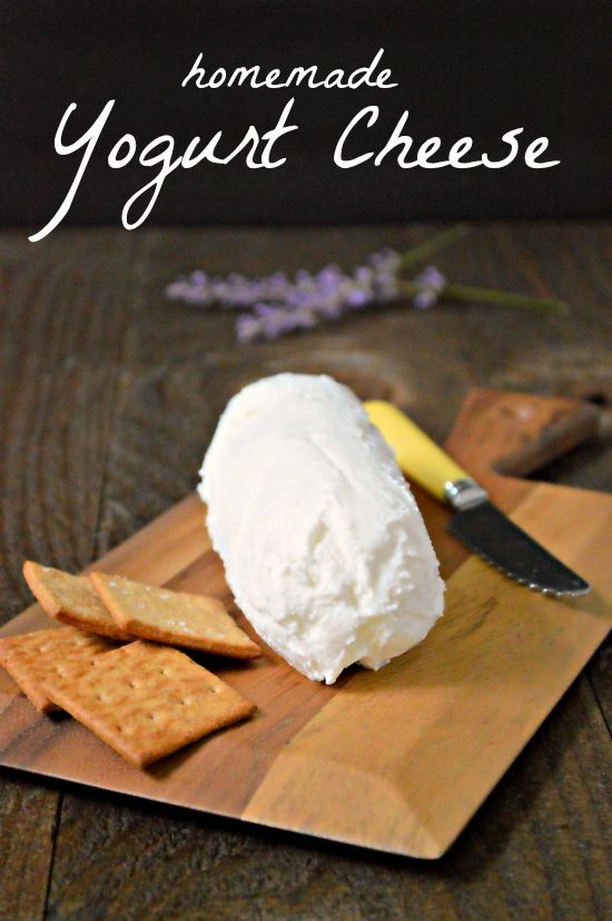 Homemade Yogurt Cheese - Little House Living