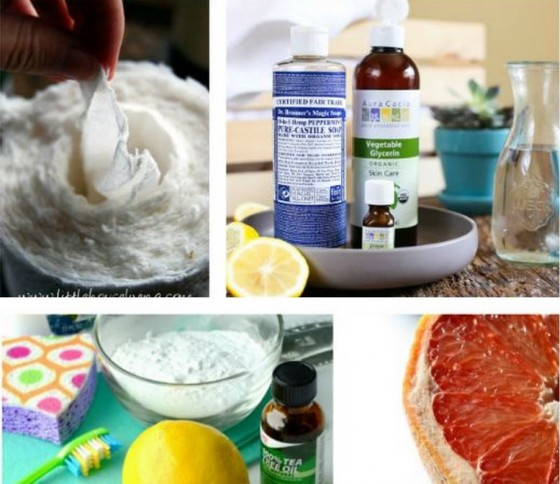 Frugal and Simple Homemade Household Cleaner Recipes
