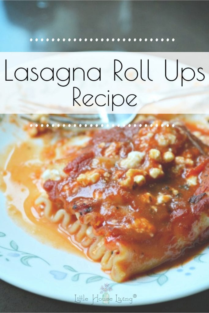 Looking for an easy dinner idea your family will love? This Easy Lasagna Rolls Recipe is made with just a few basic ingredients and a bit of time! #easydinnerideas #lasagnarolls #whatsfordinner #easyrecipe