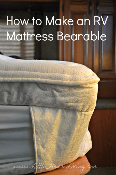 Post image for How to Make an RV Mattress Bearable