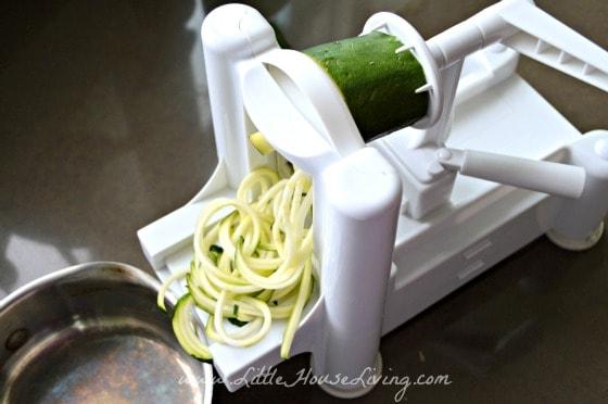 Simple Vegetable Pasta Spiralizer