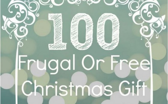 100 Frugal or Free Christmas Gifts for Toddlers