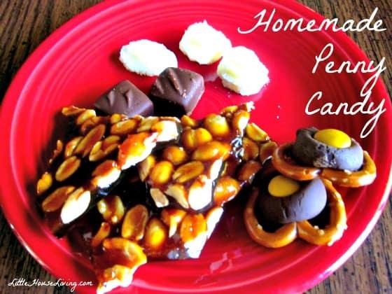 Homemade Penny Candy Christmas Treats