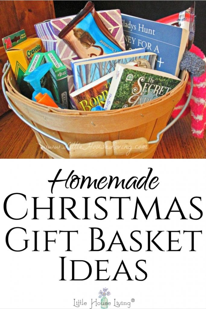 Are you looking for a unique gift? You can put together a Christmas Gift Basket that is personalized, beautiful, fun, and functional for everyone on your list! #christmas #simplechristmas #homemade #giftideas #frugalgiftideas #frugalChristmas