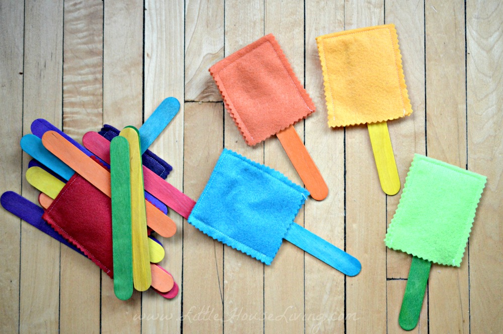 Busy Bags for Preschoolers Popsicle Game