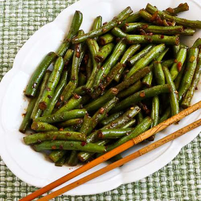 for Spicy Sichuan Green Beans is a great way to use garden beans ...
