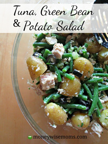Tuna-Green-Bean-Potato-Salad