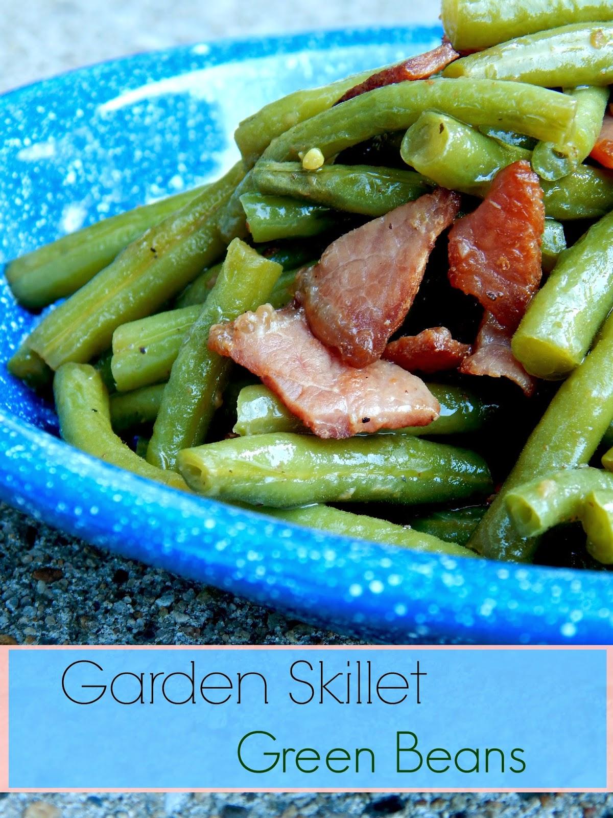 Garden Skillet Green Beans