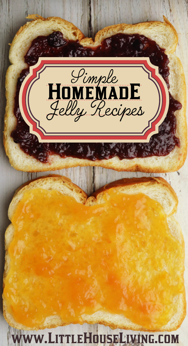 Planning on making some delicious jellies and jams this year? Here is a big list of homemade jelly recipes to choose from!
