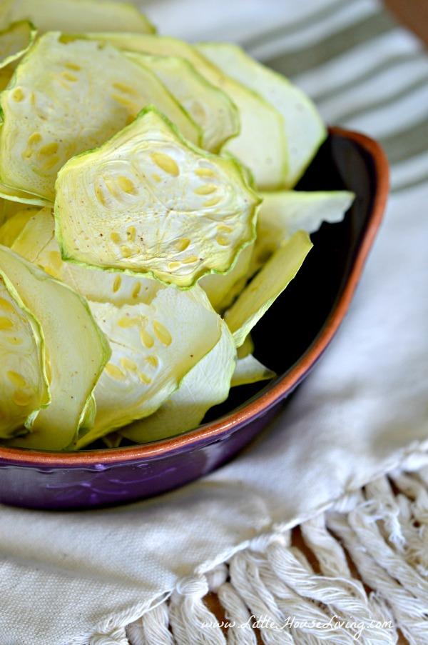 Garlic Zucchini Chips Recipe