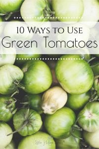 Perhaps you aren't quite to that time yet of the year yet (aka: the hard freeze) but are beginning to think about it. Tomatoes are one of the things we will always pick all of, green or ripe, because there are things you can do with them either way. Take a look below at uses for green tomatoes that you may not have thought of. #greentomatoes